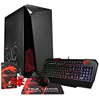 MSI Infinite VR7RC-036US Enthusiast (i7-7700, 16GB RAM, 1TB NVMe SSD + 2TB HDD, NVIDIA GTX 1060 3GB, Windows 10) VR-Ready Gaming Desktop PC