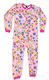 Just Love Printed Flannel Blanket Sleepers Peace Love Girls' 10-12