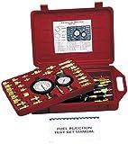 fuel pressure gauge adapter tbi - Lisle 55700 Master Fuel Injection Test Set
