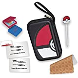 RDS Industries, Nintendo 3DS Game Traveler Essentials Pack - Black Pokeball