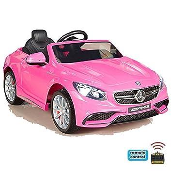 12V Kinder Auto Elektroauto Kinderauto Kinderfahrzeug Elektrofahrzeug Rose rot Kinderfahrzeuge