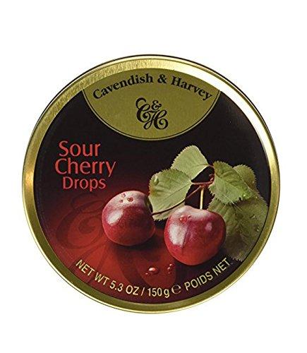 Cavendish & Harvey Fruit Tin - Cherry, 5.3-Ounce