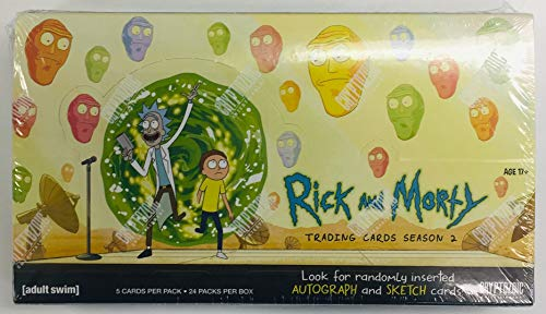Rick & Morty Season 2 Trading Cards (Rick And Morty Universe In A Box)