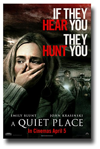 A Quiet Place Poster Movie Promo 11 x 17 inches 2018 Emily B