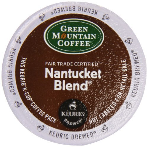 Keurig Mountain Coffee Nantucket Counts