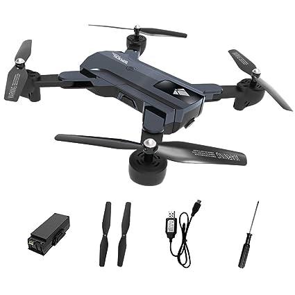 Mando a LSM900LED dron cuadricóptero con cámara, F196 batería de ...