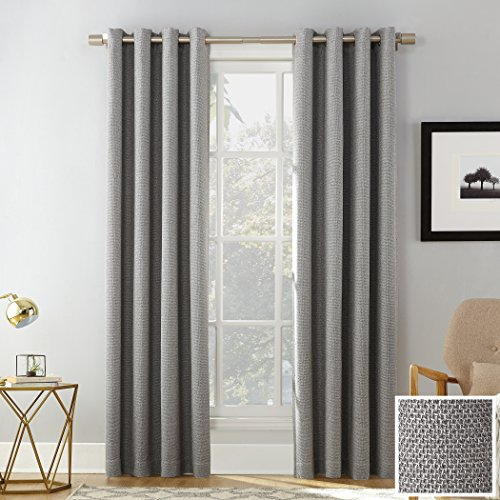 Sun Zero Baxter Theater Grade Extreme 100% Blackout Curtain Panel, 52