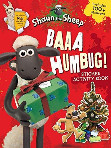 Baaa Humbug! A Shaun the Sheep Sticker Activity Book (Shaun the Sheep Movie Tie-ins)