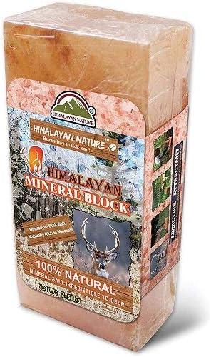 Best Deer Attractant: Himalayan Nature Himalayan Rock Deer Salt Block