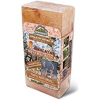 Himalayan Nature 100% Natural Himalayan Rock Deer Salt Block - Animal Licking Mineral Salt Block ,2 to 5 Lbs, Packaging may vary.