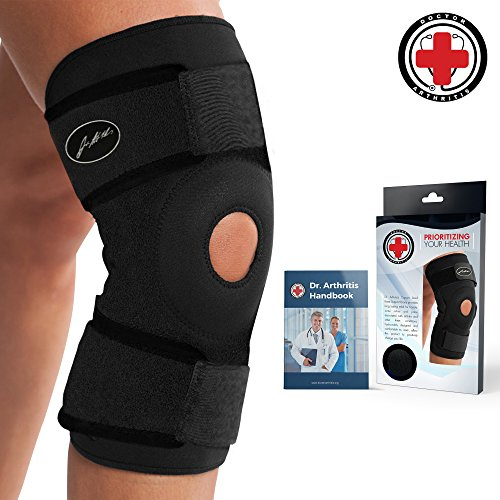 Doctor Developed Knee Brace & Knee Support and Doctor Written Handbook —Guaranteed Relief & Support for Knee Injuries and Other Knee Conditions