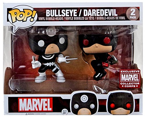 Funko Pop Vinyl Marvel Collector Corps Exclusive Bullseye an