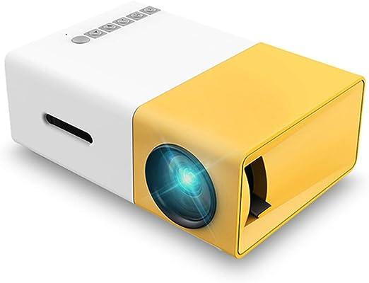DBGS Inteligente proyector HD Mini proyector casero, Miniatura ...