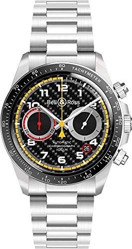 Bell & Ross Vintage Stainless Steel Chronograph Men's Watch -