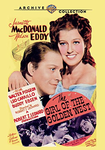 The Girl of the Golden West Nelson Eddy Films