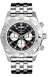 Breitling Men's AB041012/BA69 Analog Display Swiss Automatic Silver Watch