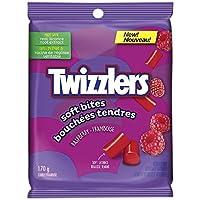 Twizzlers Soft Bites, Raspberry, 170-Gram