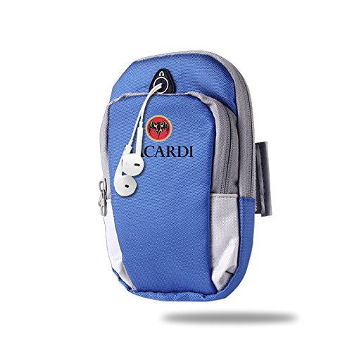 BENS Bacardi Logo Armband Arm Bag Package For Sports Running For Iphone Samsung Galaxy Key Money ()
