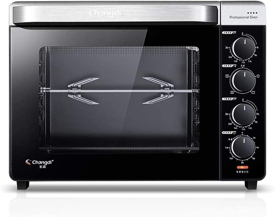 YB&GQ Convection Countertop Toaster Oven, 120 Minute Timer Automatic Shut Off Oven Includes Bake Pan, Broil Rack & Toasting Rack-a 56x42x32cm(22x17x13inch)