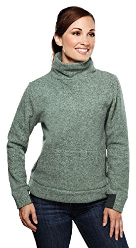 Fleece Turtleneck Micro (Tri-Mountain Solace Micro-Fleece Turtleneck, M, Leaf)