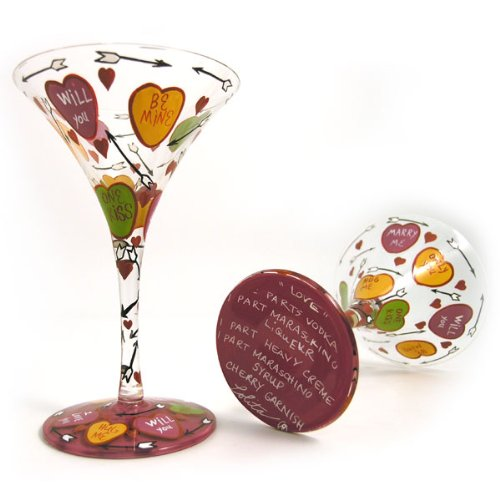 Lolita Martini Glasses Lovetini gls4-5510m