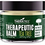 tea tree oil balm - Tea Tree Oil Balm with Neem Oil - Helps Fight Common Causes of Skin Irritation and Helps Soothe Dry, Itchy Skin - by Oleavine TheraTree