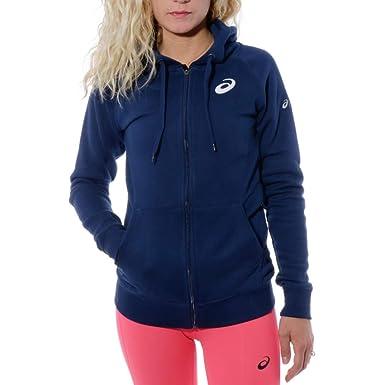 ASICS Marathon Paris Sweat Femme Running Marine:
