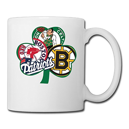 Boston Bruins Ceramic - Boston Fan Sport Flag Decal Vinyl Bruins Ceramic Cool Unique Coffee Tea Mugs Cups