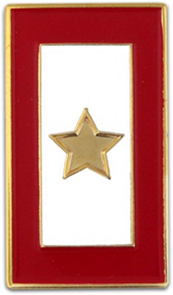 Mr.Piercing Cross Lapel Pin