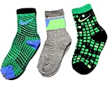 Nike Kids Graphic Cotton Cushion Crew 3-Pair Pack Socks 13C-3Y/XS