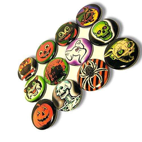 Halloween Pin Buttons - 2