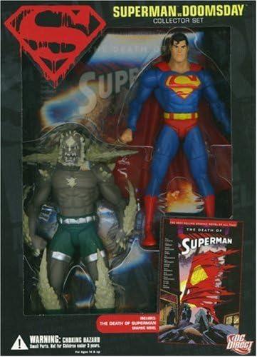 1401215742 Superman Vs. Doomsday Collector Set 51U4E5femJL