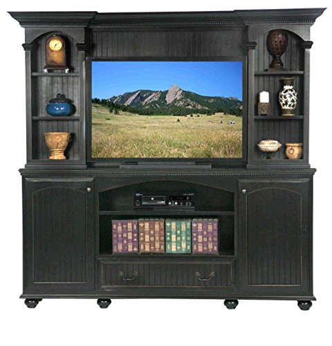 [Eagle Furniture Manufacturing American Premiere Entertainment Console & Hutch with 52
