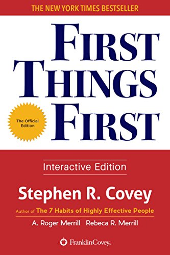 stephen r covey first things first pdf