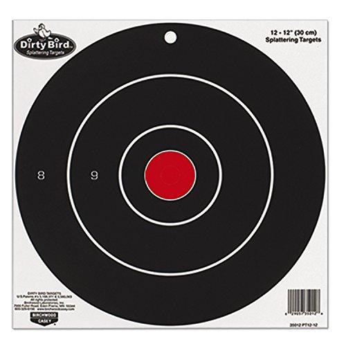Birchwood Casey BW Casey Dirty Bird Target 8 inch Bull 25 (Dirty Bird Target)