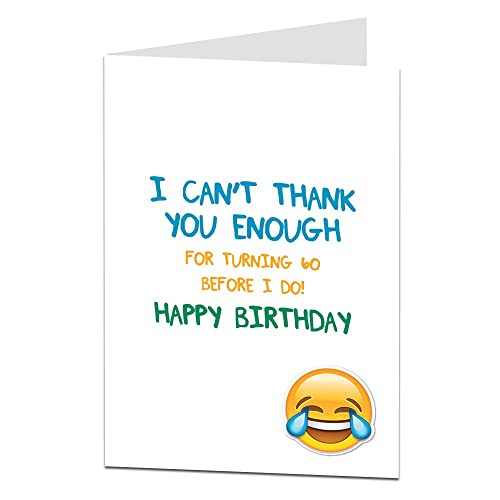 Birthday Cards For Husband Amazon Co Uk: Funny 60th Birthday Cards: Amazon.co.uk