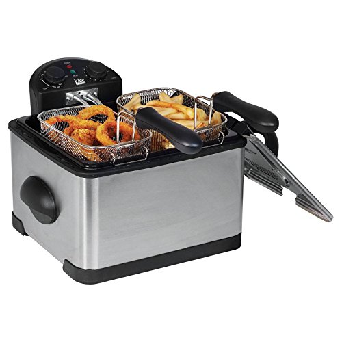 electric-deep-fryer-4-qt-electric-1700w-3-basket-stainless-steel-home-kitchen