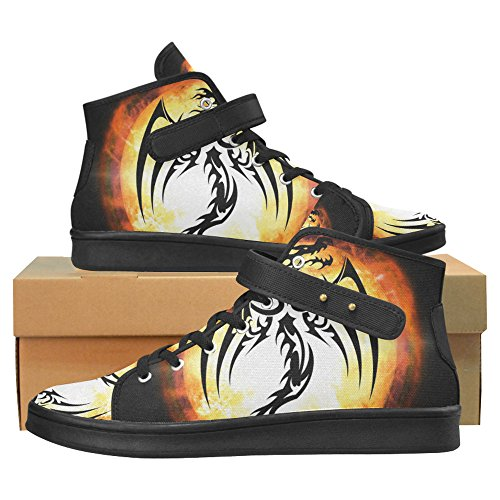 for Shoes Fashion InterestPrint Shoes 2 Women Dragon skull Cloth qnvXO