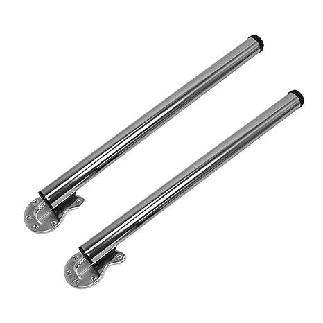 Amazon.com: Patas de soporte de mesa de acero inoxidable ...