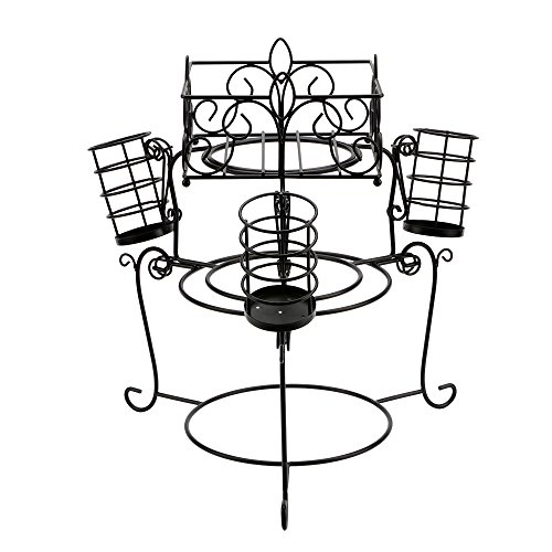 serving dish with stand  godinger 2