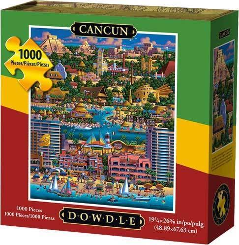 Dowdle Jigsaw Puzzle - Cancun - 1000 Piece