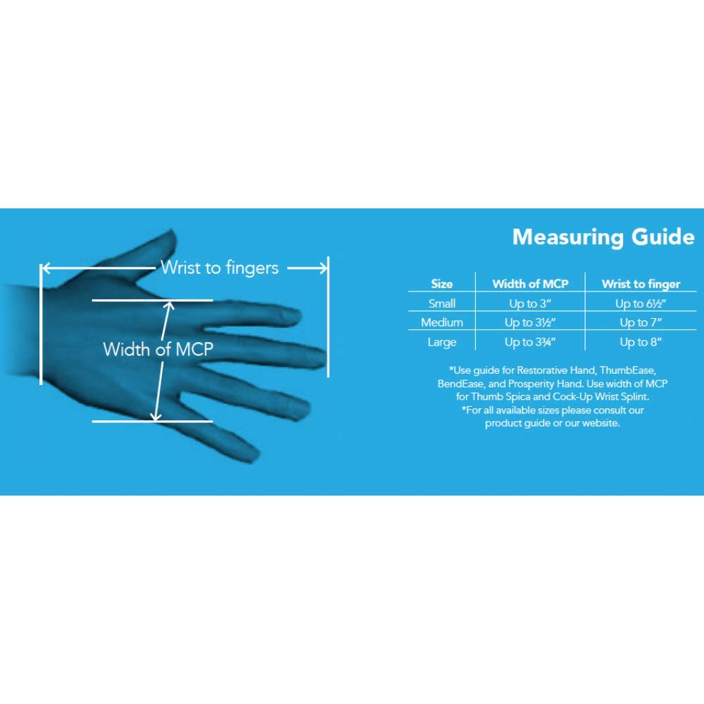 Restorative Medical Hand Brace | Resting Hand & Wrist Night Splint - Corrective, Supportive Brace for Comfort & Pain Relief by Restorative Medical (Image #7)