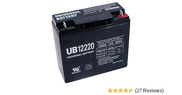 Amazon Com 12v 22ah Sla Replacement Battery For Schumacher Xp2260 Portable Power Source Electronics