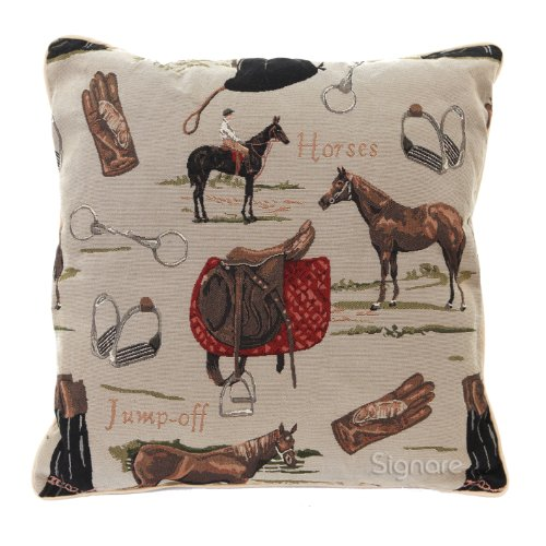 Signare Tapestry Double Sided Square Throw Pillow Cover 18