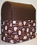 Quilted Coffee Sunbeam Heritage Series 4.6qt Mixmaster Cover (Chocolate Brown)