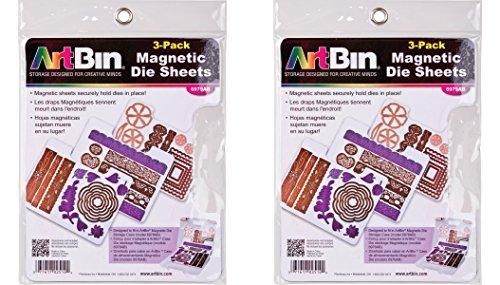 (ArtBin Magnetic Die Sheets- 3/Pack (Pack of 2))