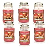 Yankee Candle Company Home Sweet Home 22-Ounce Jar Candle, Large, Set of 6