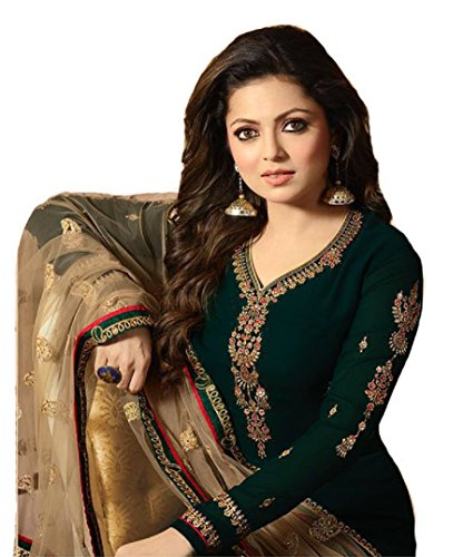 (Ready Made Fashionable Designer Straight Salwar Kameez LT Nitya 2201-2208 (Green, XL-44))