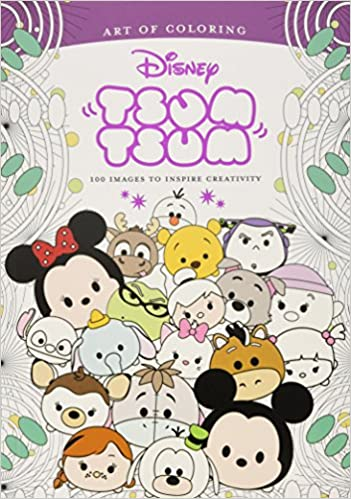 Art Of Coloring Tsum 100 Images To Inspire Creativity Amazoncouk Disney Book Group Books