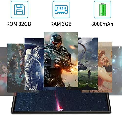 10.1 inch Tablet with Keyboard Case Quad-Core 1.3Ghz Processor, 3 GB RAM, 32 GB Storage, Android 9.0 (Go Edition) 1280×800 IPS HD Display, 8MP Rear Camera, Bluetooth, Wi-Fi, USB, GPS-Black 51U4JbO9tML